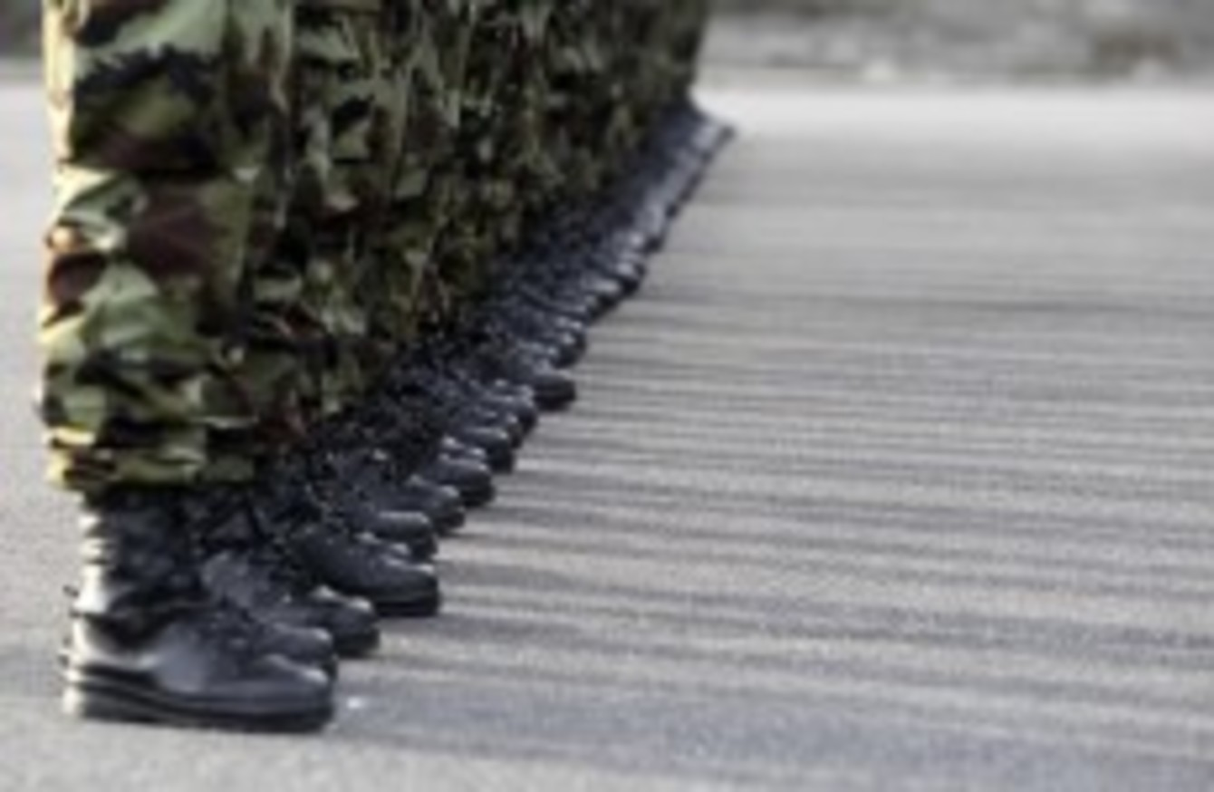 Defence Forces investigating after \'barbed wire tied around ...