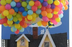 SQUIRREL! The house from UP is now a reality