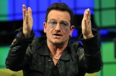 Bono's private plane loses hatch door on flight from Dublin