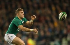 Madigan at 10 as Schmidt selects Foley and Ryan for first Ireland caps