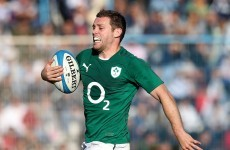 Ireland centre Cave out to 'stop complaining and start playing well'