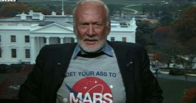 'Get your ass to Mars': Buzz Aldrin wants humans to permanently occupy Mars