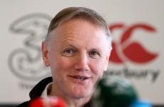 Schmidt working towards perfection despite wholesale changes for Ireland