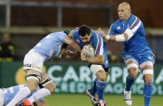 Argentina bounce back from Murrayfield defeat to edge out Italy