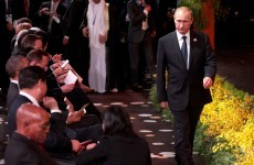 And he's off… Vladimir Putin's heading home from the G20 early