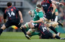 Ireland refuse to criticise Georgian flanker for foot on Ryan's face