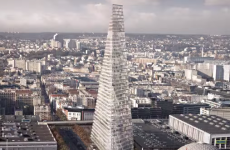Gallic row brewing over 180m tall pyramid for Paris skyline