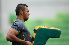 Everybody's happy to have Kurtley Beale back in the squad -- Quade Cooper