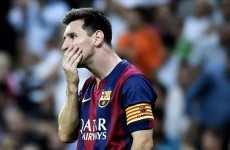 Lionel Messi hints at Barcelona exit
