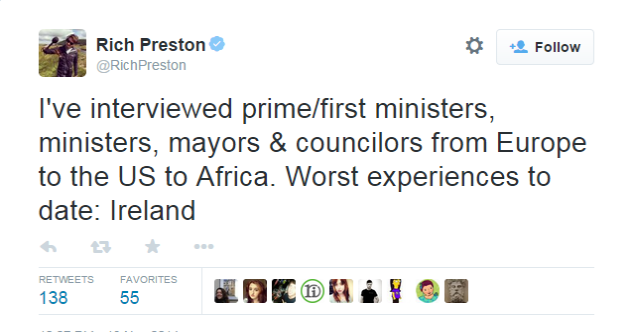 America's main public broadcaster is not happy with our ministers