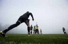 Dense fog, Jim Gavin and 12 more pictures from Ireland's final training session at Carton House