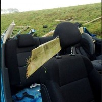 Shocking crash photo is stark warning of dangers on the roads