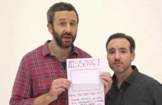 Chris O'Dowd wants you to help find his missing imaginary friend
