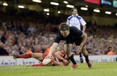 This classy chip from Beauden Barrett helped the All Blacks to beat Wales