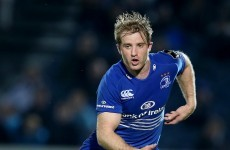 Luke Fitzgerald a late withdrawal from Leinster's clash in Treviso
