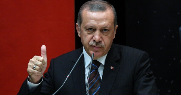 'Digging soil is against their delicate nature': Turkish president says women are not equal to men