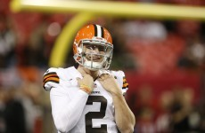 Johnny Football in hot water after alleged fight with fan who tried to hug him