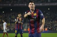 Opponent team fan spat in Lionel Messi 12/21/2015 5