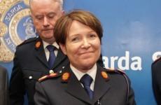 Nóirín O'Sullivan is the new Garda Commissioner