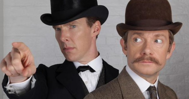 A new Sherlock photo is sending the internet into a frenzy, but there's one small problem with it...