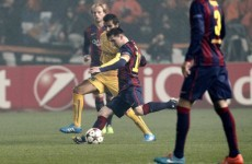 This strike made Lionel Messi the greatest goalscorer in Champions League history
