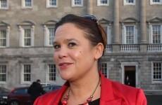 No, Mary Lou did not avoid a Trinity Sinn Féin event because of a Maíria Cahill protest