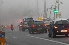 Turn on those lights: Status Orange weather warning in place