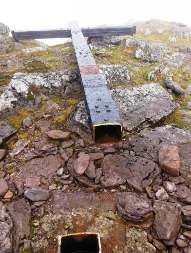 The cross on Carrauntoohil will be re-erected before Christmas