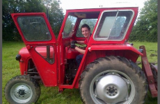 There's a campaign to pick this Westmeath lad in a tractor as the face of Gosh makeup