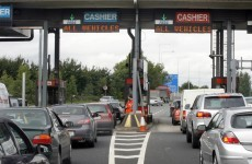 You get to a toll barrier and can't pay. What happens next?