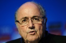 My sporting wish for 2015: Sepp Blatter to step down as FIFA President