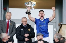 IFC provincial glory for Sean O'Mahonys and Warrentpoint today