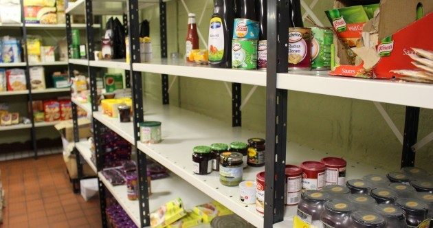 The shelves at this food bank are looking bare and they need your help