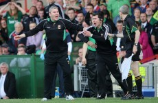'At the moment, I can't see myself managing any other county' -- James Horan