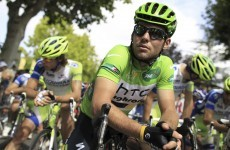 Rough ride: Cav ready to feel the burn