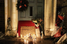 There was a very moving vigil for the homeless outside Leinster House last night