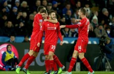 Despite Mignolet's best efforts, Liverpool beat Leicester with help from Steven Gerrard