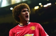 Fellaini proves he is useful - for now - as Manchester United plough on