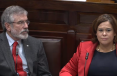 Sinn Féin has complained about 'defamatory allegations' from Joan Burton