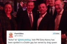 Enda Kenny called 'Edna' by British gay lifestyle magazine