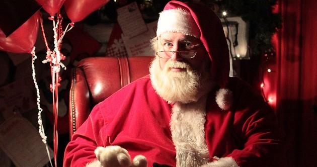 My life as a shopping centre Santa
