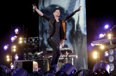 The Script pull woman from the wreckage of a car crash