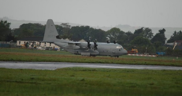 Charlie Flanagan apologises and says this US military plane DID land in Shannon