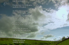 Channel 4′s continuity announcer was very bored and apparently loves puns