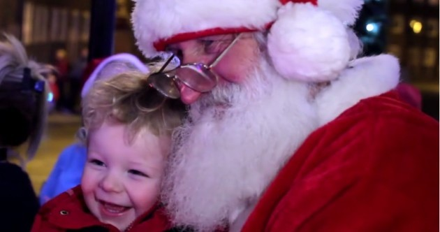 This video of the Christmas lights being turned on at Temple Street hospital will warm your heart