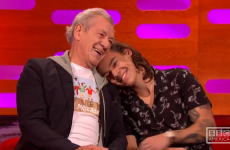 Ian McKellen and Harry Styles cuddling on Graham Norton was beautiful telly