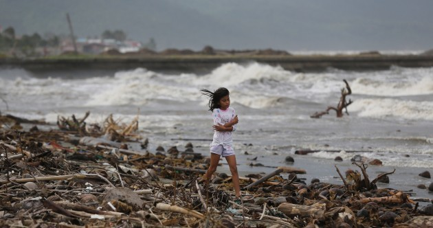 Typhoon Hagupit makes landfall in the Philippines