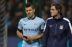 After coming off in tears, is Sergio Aguero set for another spell on the sidelines?