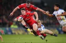 We felt that Clermont beat us up a bit - Munster's Ian Keatley
