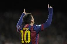 Lionel Messi moves onto 202 La Liga goals with hat-trick against Espanyol